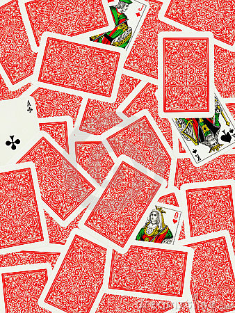 Free Playing Cards Background Royalty Free Stock Photo - 16479495