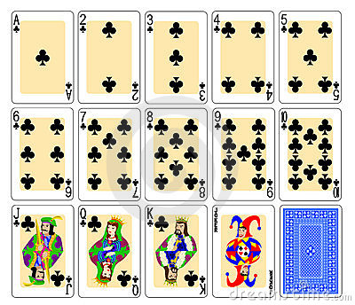 Playing Cards - clubs