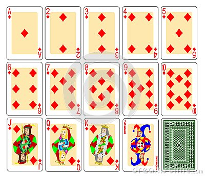 Playing Cards - diamonds
