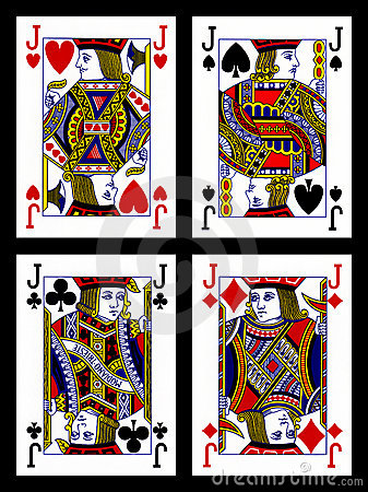 Free Playing Cards - Jacks Royalty Free Stock Images - 22464529