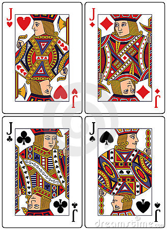Playing Cards - Jacks