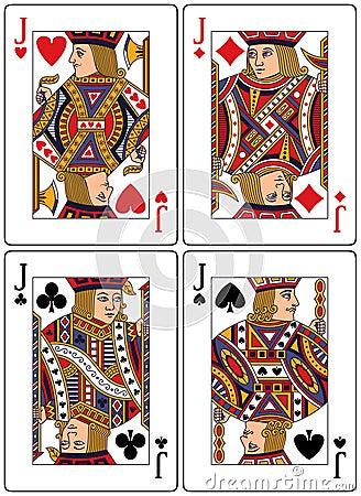 Free Playing Cards - Jacks Royalty Free Stock Image - 8678846