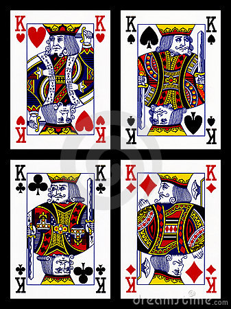 ... king cards (hearts...