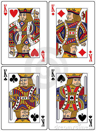 Playing Cards - Kings