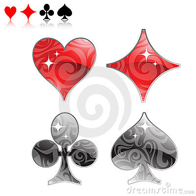 Playing cards logo