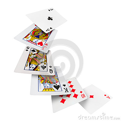 Free Playing Cards Poker Casino Royalty Free Stock Photo - 41976615