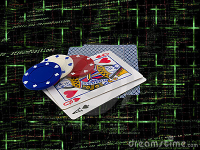 Playing Cards with Poker Chips on Source Code