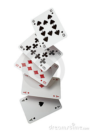 Free Playing Cards Poker Gamble Game Leisure Stock Images - 12574614