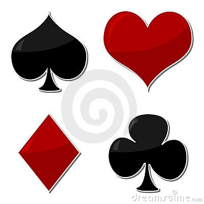 Playing cards symbols