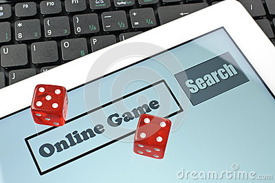 Playing dice for game online