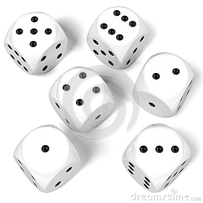 Free Playing Dices Royalty Free Stock Photo - 70550835