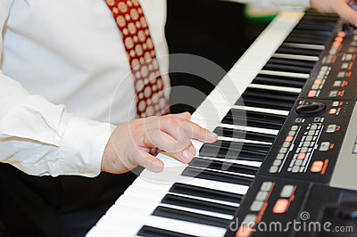 Playing Electronic Piano