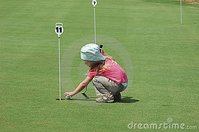 Playing Golf Stock Photography - Image: 1461852