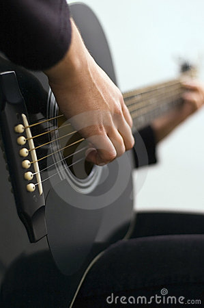 Free Playing Guitar Royalty Free Stock Image - 7067576