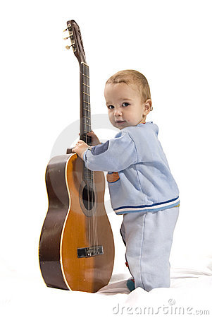 Free Playing Guitar Royalty Free Stock Images - 8314309