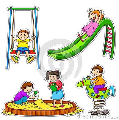 Free Playing Kids Royalty Free Stock Photos - 24176608