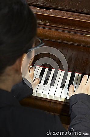 Playing Piano Teacher