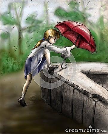 Playing in the rain 3