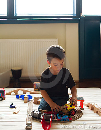 Playing Room Stock Image - Image: 20436371