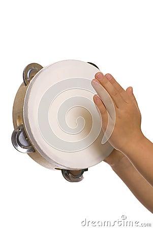 Playing the tambourine 2