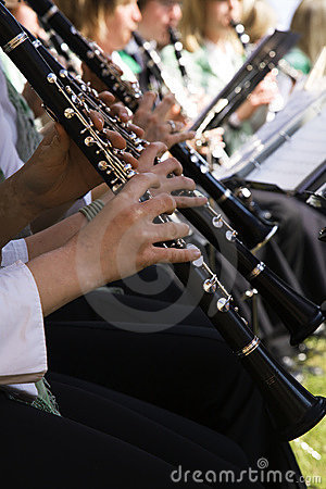 Free Playing The Clarinet Royalty Free Stock Photos - 1241908