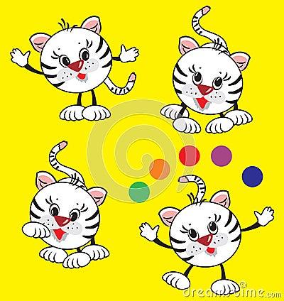 Playing tiger