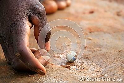 Playing tiny balls