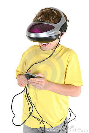 Playing in virtual reality