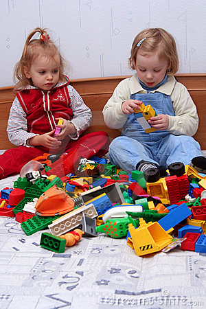 Free Playing With Cube Blocks Stock Photo - 1873590