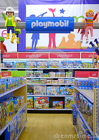 Playmobil Editorial Stock Photo