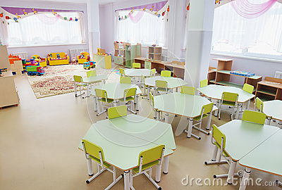 Playroom in a kindergarten