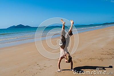 Playtime Holiday Boy Beach
