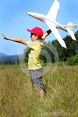 Free Playtime Pilot Stock Images - 31668864