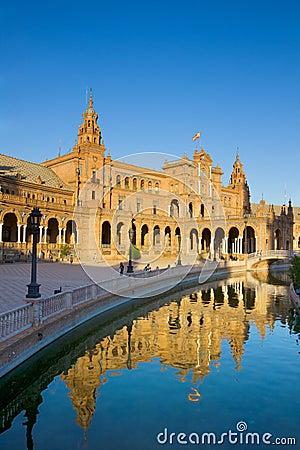 Plaza de Espa?a, Seville, Spain