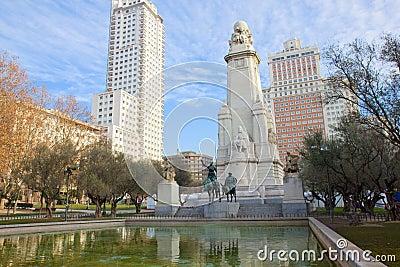 Plaza de Espana, Madrid, Spain