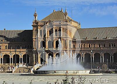 Plaza de Espana (Spain Square), Seville, Spain