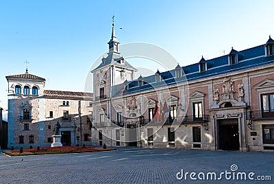 Plaza de la Villa, Madrid,  Spain.