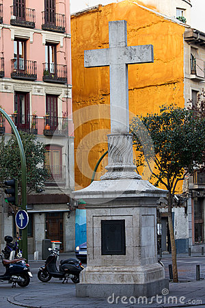 Plaza de Puerta Cerrada in Madrid