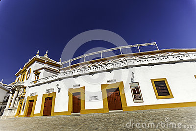 Plaza de toro Editorial Stock Photo
