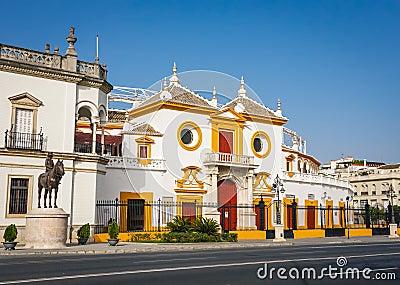 Plaza de Toros (arena) in Sevilla