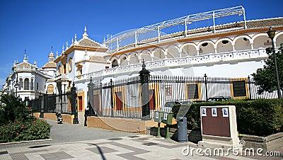 Plaza de Toros de la Maestranza, Seville, Spain Editorial Stock Image