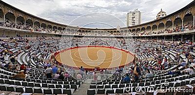 Plaza de Toros Monumental de Barcelona Spain Editorial Stock Image