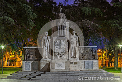 Plaza Italia Mendoza Argentina