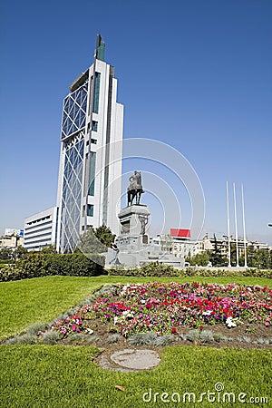 Plaza Italia Santiago de Chile