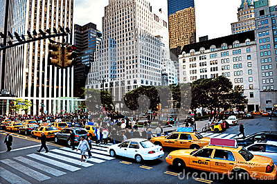 The Plaza in Manhattan New York City Editorial Image