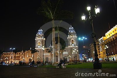 Plaza Mayor - Lima, Peru