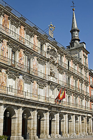 Free Plaza Mayor Madrid Royalty Free Stock Photo - 6607545