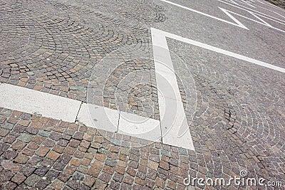 Plaza paving