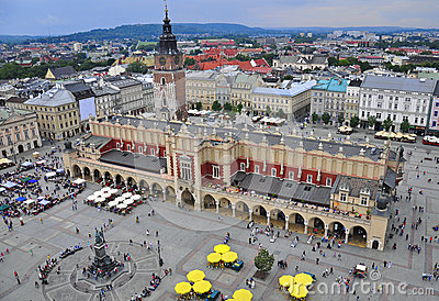 Plaza principal de Kraków