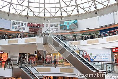 Plaza Rumania Imagen de archivo editorial